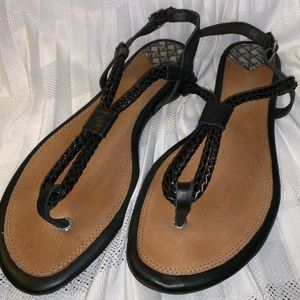 Sperry Black Sandals Women's
